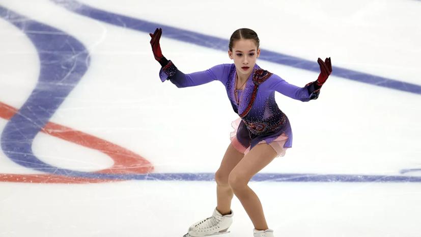 Акатьева выиграла короткую программу юниорского Гран-при в Красноярске