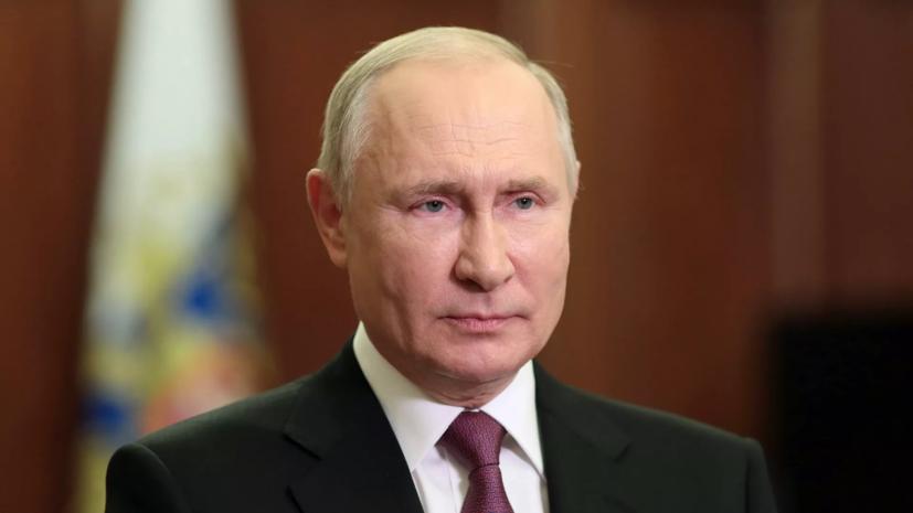 Путин призвал вовремя ревакцинироваться