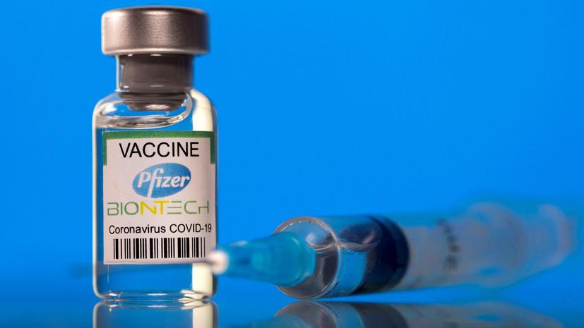 53% против штамма «дельта»: в Pfizer обнародовали данные о снижении эффективности вакцины от COVID-19 с течением времени