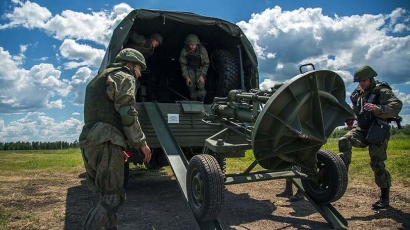 В Амурской области прошли учения миномётчиков
