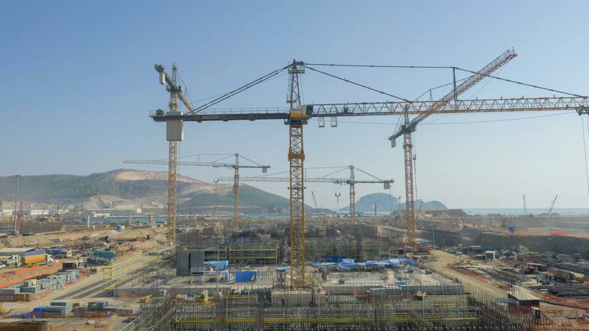 Эрдоган рассказал о строительстве АЭС «Аккую» в Турции