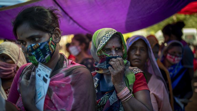 В Индии за сутки привили от коронавируса рекордные 25 млн человек