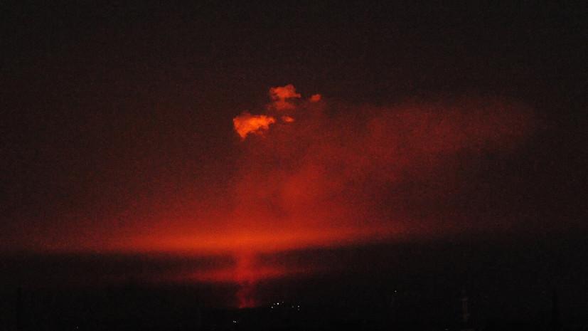 SANA: в Дамаске отключилось электричество из-за атаки на газопровод