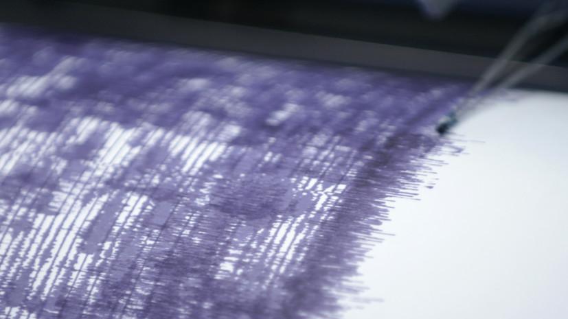 Землетрясение магнитудой 4,9 произошло в Таджикистане