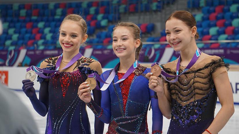 По пути усложнения: как этап юниорского Гран-при в Красноярске позволил заглянуть в будущее фигурного катания