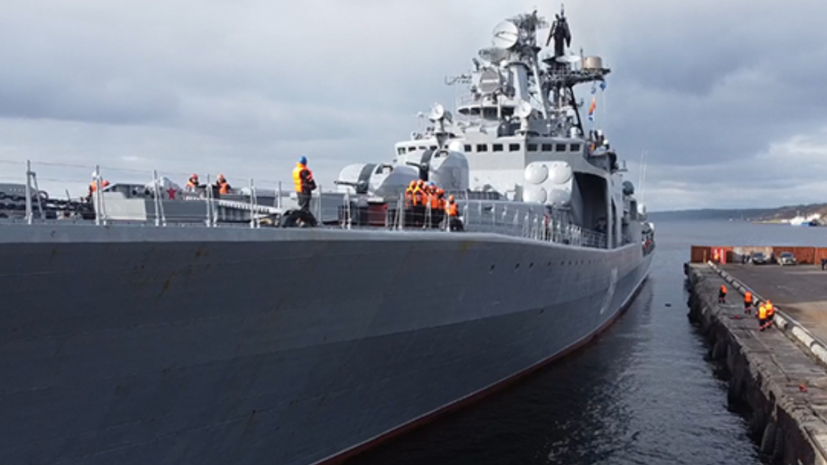 Корабли Северного флота России проведут учения в море Лаптевых