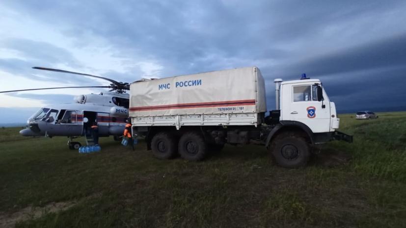 В ХМАО приостановили поиски упавшего гидросамолёта