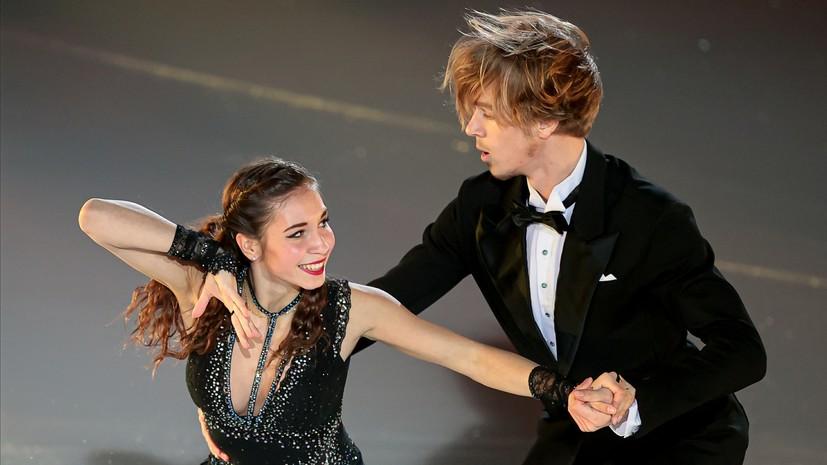 Танцевальная пара Дэвис и Смолкин заняли второе место на турнире в США