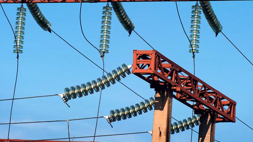 На Украине более 30 населённых пунктов остались без электричества из-за непогоды