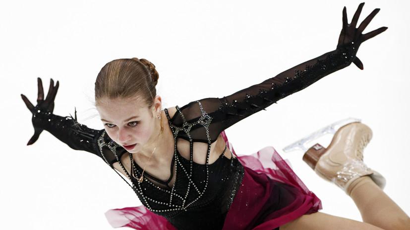 Леонова предположила, почему Трусова допустила ошибки на турнире в США