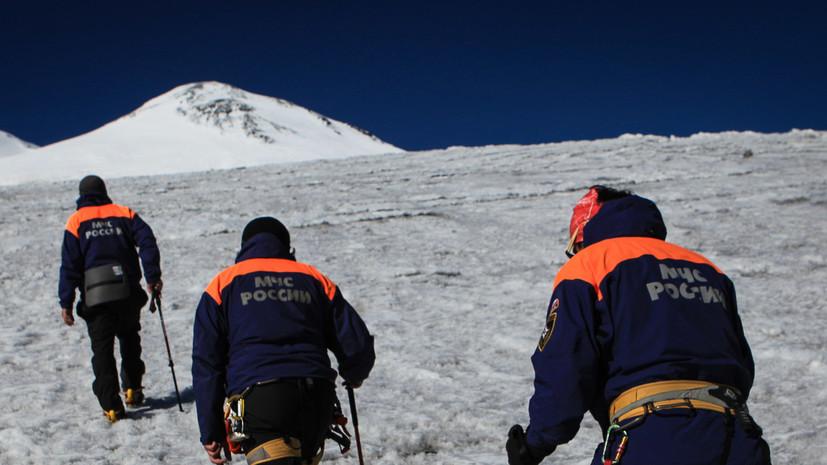 Спасатели нашли потерявшегося на Эльбрусе американца
