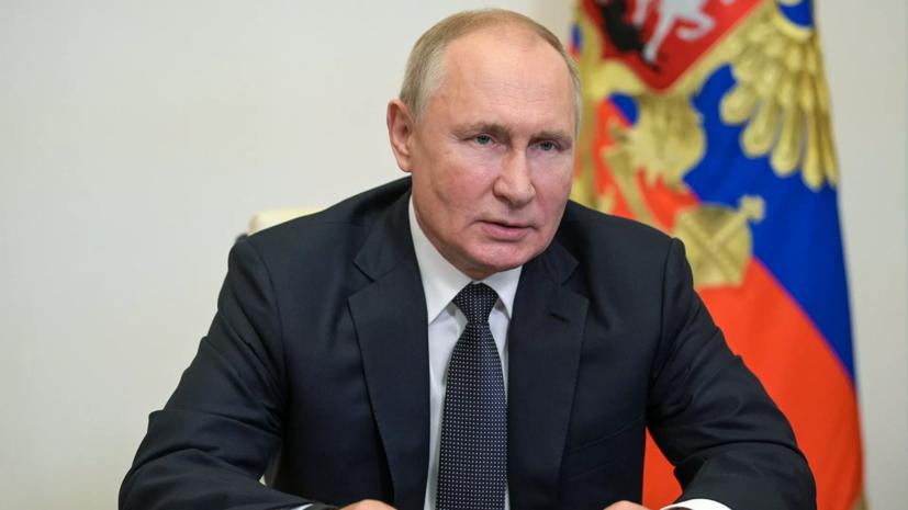 Путин продлил на год действие контрсанкций