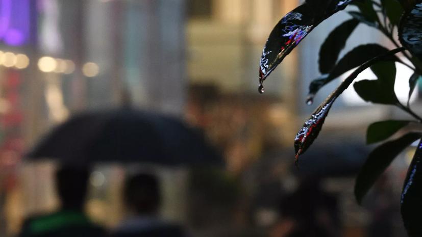 Синоптики предупредили о сильных ливнях на юге страны