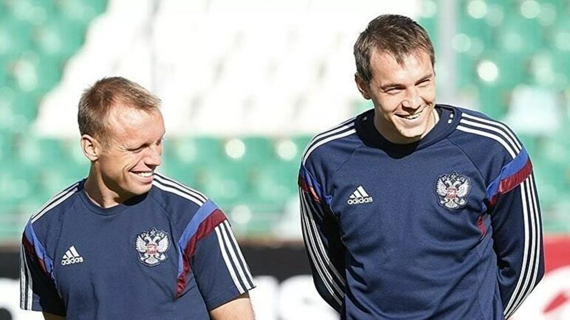 Гаджиев прокомментировал вызов Глушакова и Дзюбы в расширенный состав сборной России