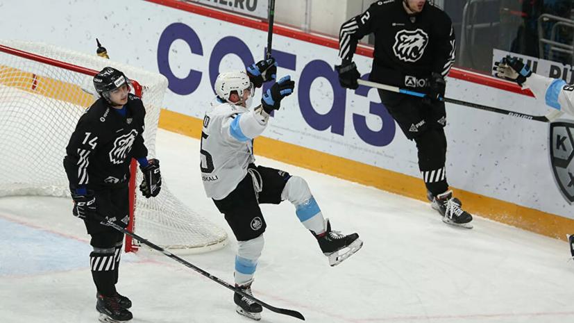 «Трактор» разгромно проиграл минскому «Динамо» в матче КХЛ