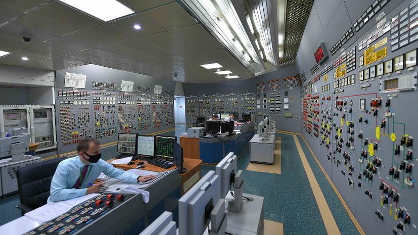 На Ростовской АЭС приступили к плановому ремонту энергоблока