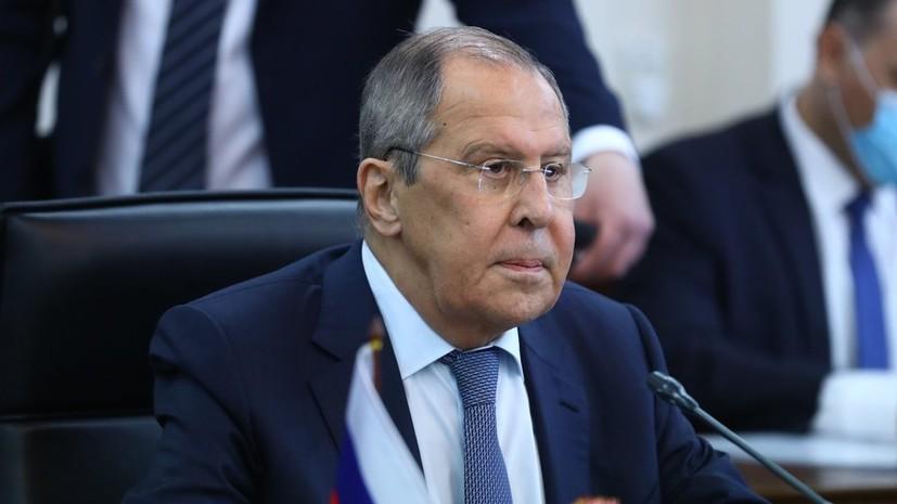 Лавров обсудил с послами ЕС Украину