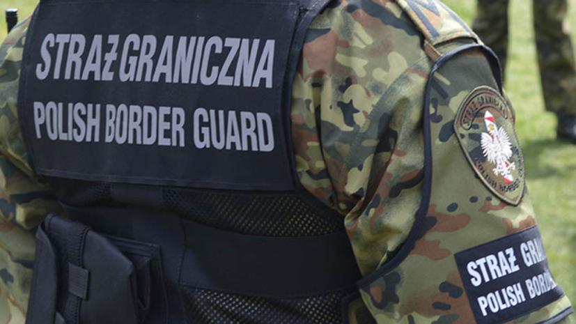 Пограничники Польши задержали 11 нелегальных мигрантов