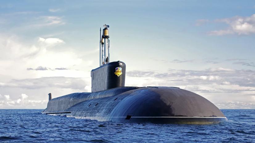Атомная подлодка ТОФ «Александр Невский» вернулась в пункт базирования на Камчатке