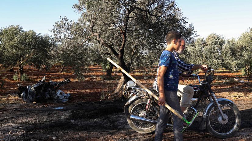 Террористы совершили 14 обстрелов в идлибской зоне деэскалации в Сирии