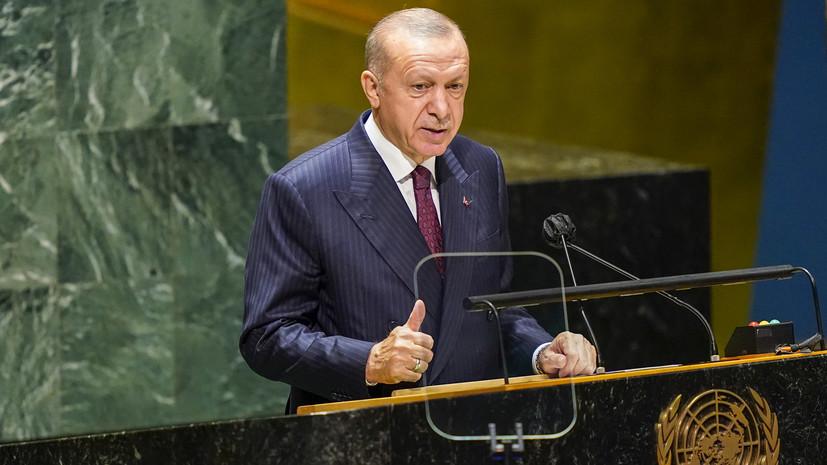 Эрдоган отказался признать Крым частью России