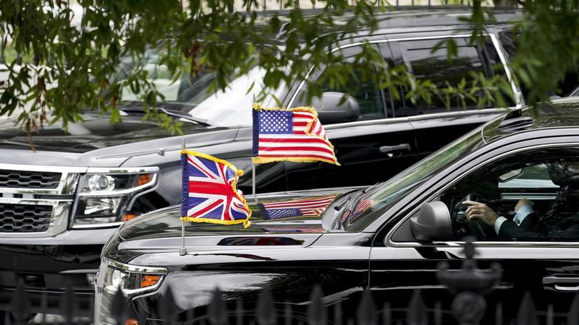 Британия и США назвали условие признания талибов