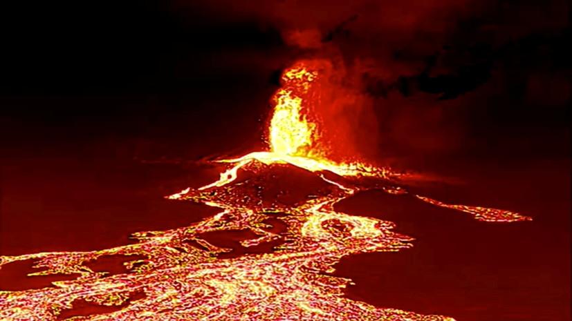 Лава после извержения на острове Пальма покрыла 154 гектара земли