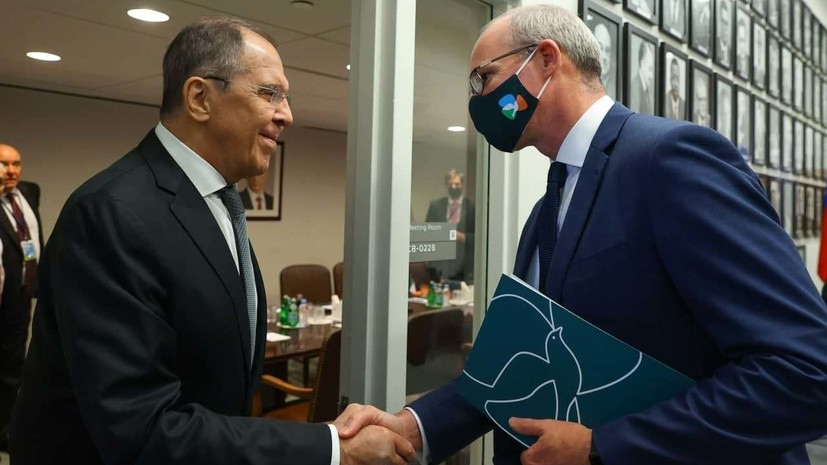 Лавров провёл встречи с главами МИД Египта, Польши и Ирландии