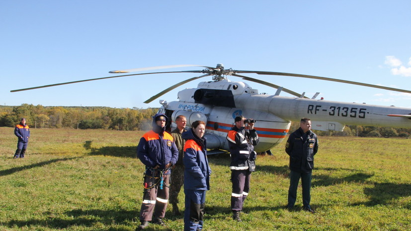 МЧС увеличило группировку по поиску экипажа упавшего Ан-26 в Хабаровском крае