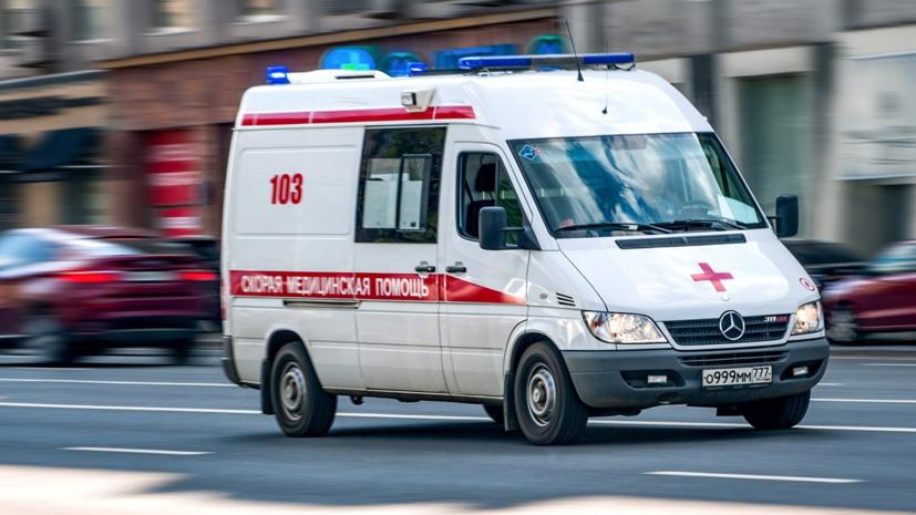 В Москве произошло ДТП с участием машины скорой помощи