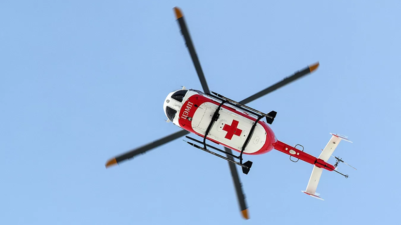 Вертолёт санавиации совершилаварийную посадку в Ижевске
