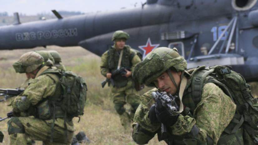 Более 100 мотострелков десантировались из вертолётов М-8АМТШ на учениях в Ростовской области