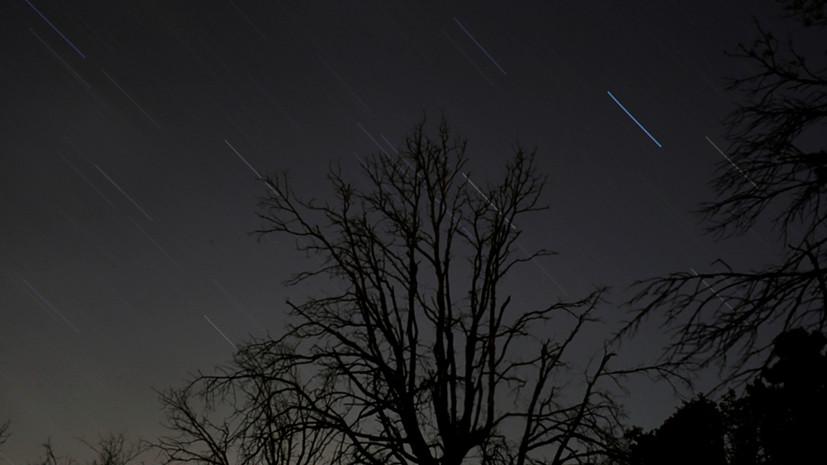 На территории Кубани в октябре можно увидеть два крупных звездопада