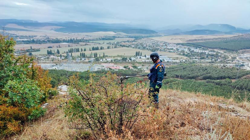 Более 150 мин времён войны обнаружили под Севастополем