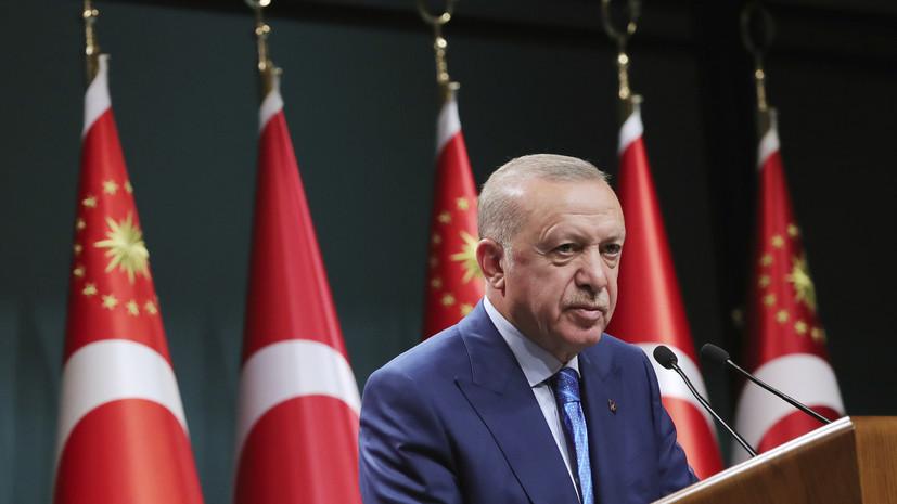 Эрдоган намерен обсудить с Путиным Сирию