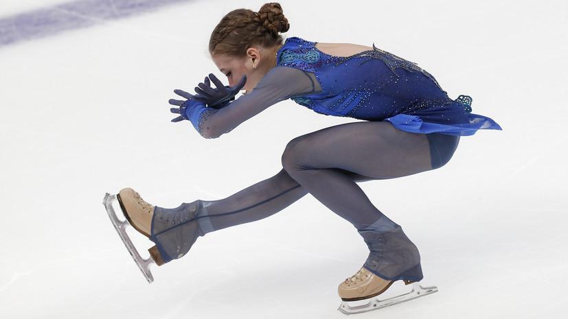 Тарасова объяснила, почему Трусова проигрывает своим соперницам в короткой программе