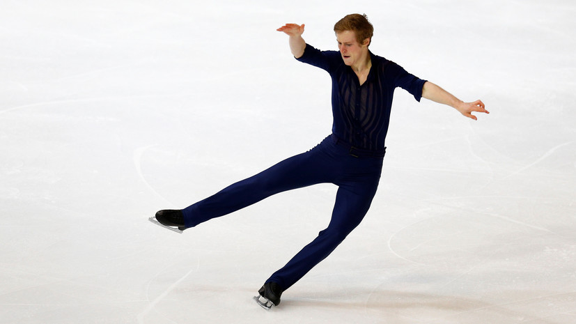 Самарин лидирует после короткой программы на этапе Кубка России в Сызрани