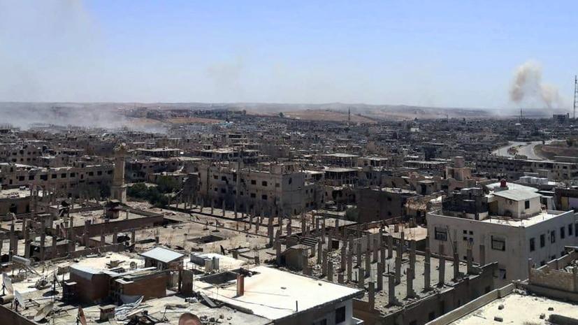 Глава МИД САР высказался о турецких войсках в Сирии
