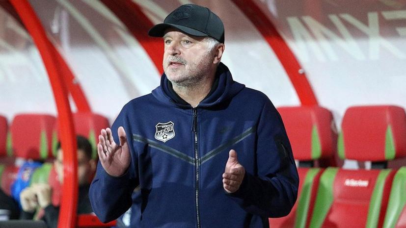 Шалимов оценил результат матча с владимирским «Торпедо»