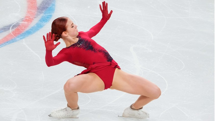 В шаге от победы: почему Трусова снялась с произвольной программы на этапе Кубка России в Сызрани