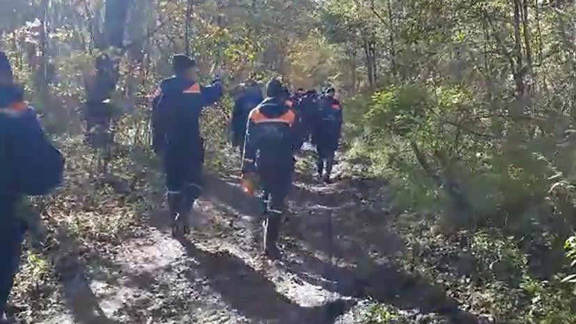 Спасатели возобновили работы на месте крушения Ан-26 в Хабаровском крае