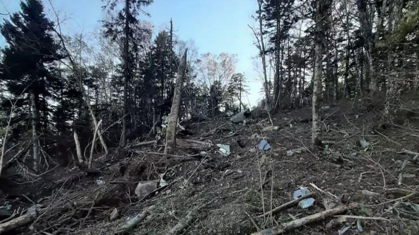 На месте крушения Ан-26в Хабаровском крае обнаружили останки членов экипажа