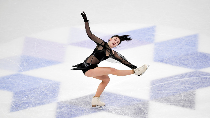 Туктамышева сделала один из двух тройных акселей в произвольной программе на Кубке России