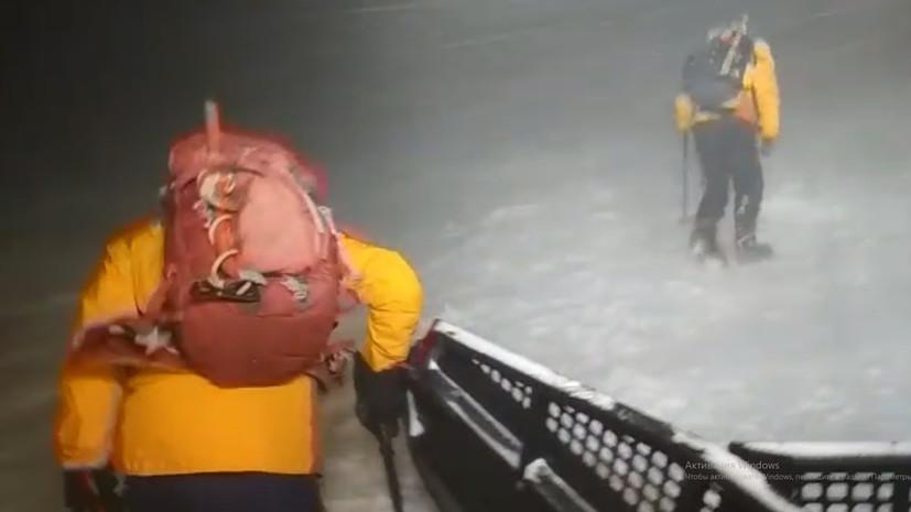 Участников спасательной операции на Эльбрусе представят к наградам