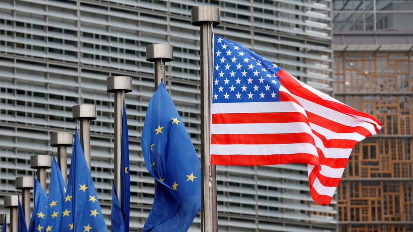 США пообещали ЕС поддержку в энергетической трансформации