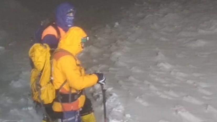 Спасатель рассказал об особенностях операции на Эльбрусе