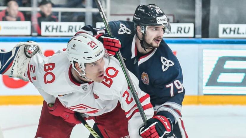 «Спартак» в овертайме обыграл «Нефтехимик» в матче КХЛ