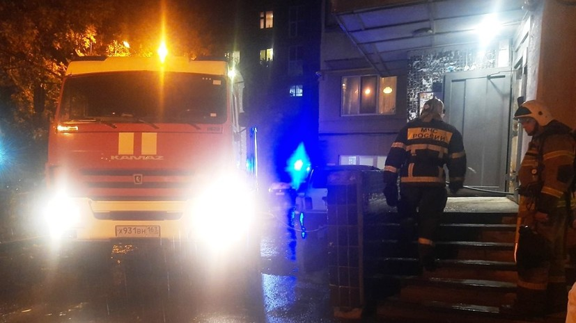При пожаре в Самаре погибли два человека