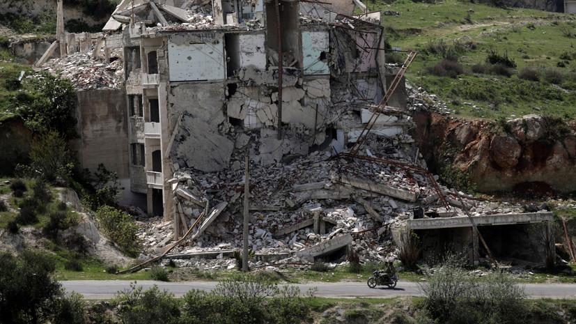 Террористы совершили 16 обстрелов в идлибской зоне деэскалации в Сирии