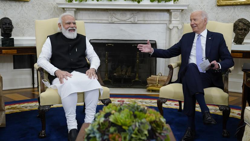 Индия и США договорились сотрудничать в борьбе с терроризмом